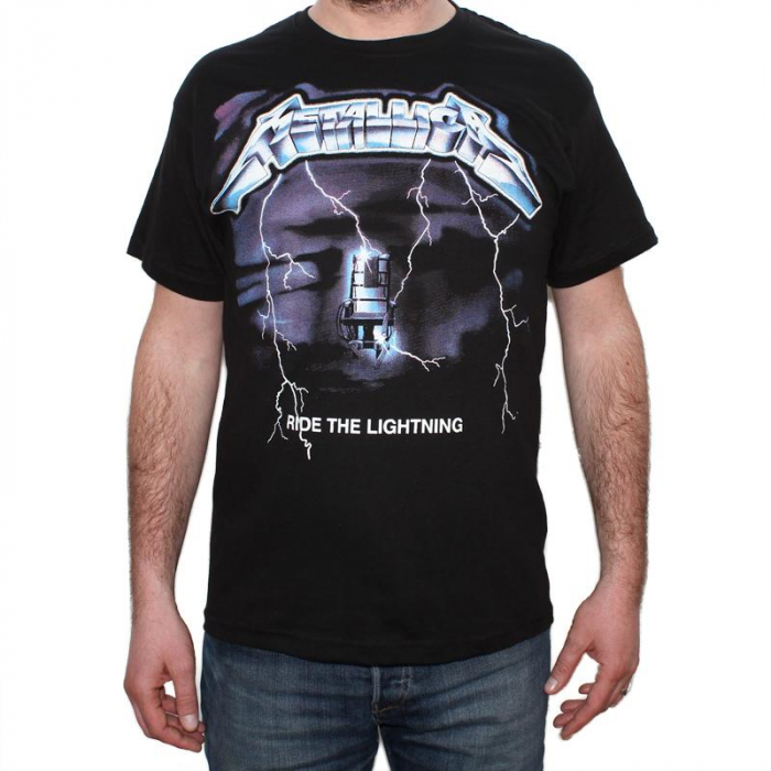 Tricou Metallica - Ride The Lightning 2- 145 grame 0