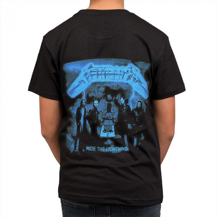 Tricou Metallica - Ride The Lightning 2- 145 grame 1