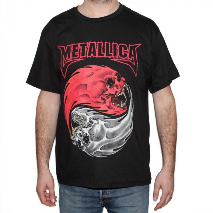 Tricou Metallica - Ying si Yang - 180 grame 0