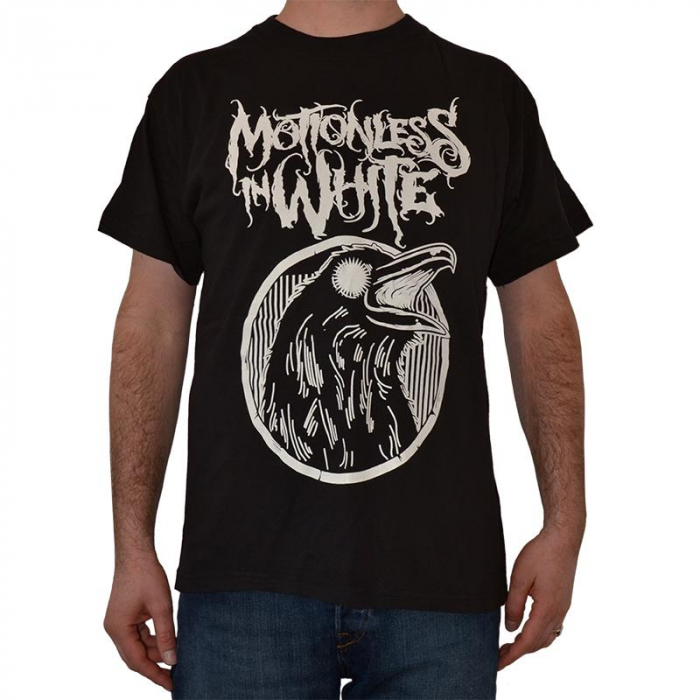Tricou Motionless In White - Crow - 180 grame 0