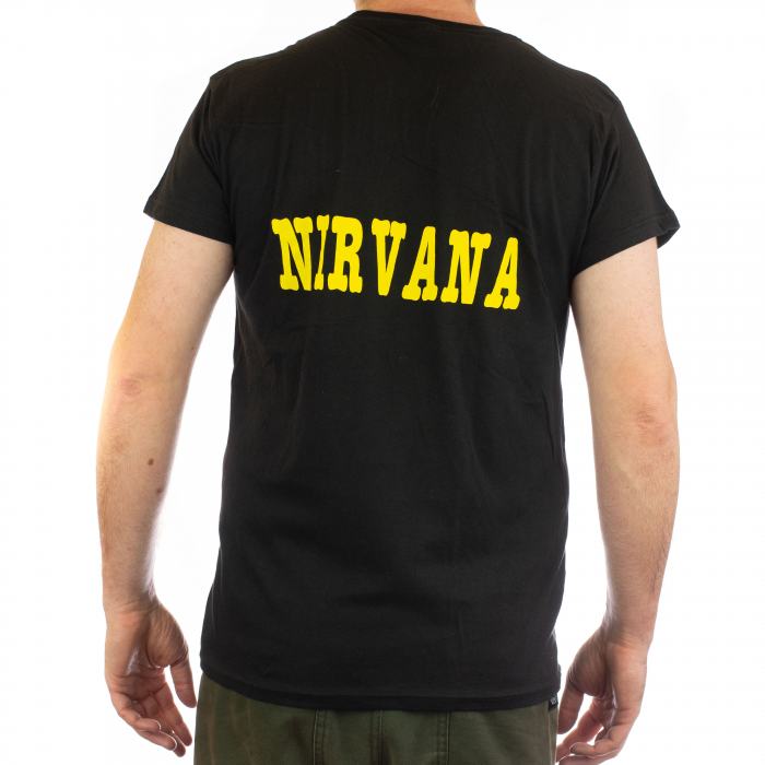 Tricou Nirvana - Kurt chitara - 145 grame 1