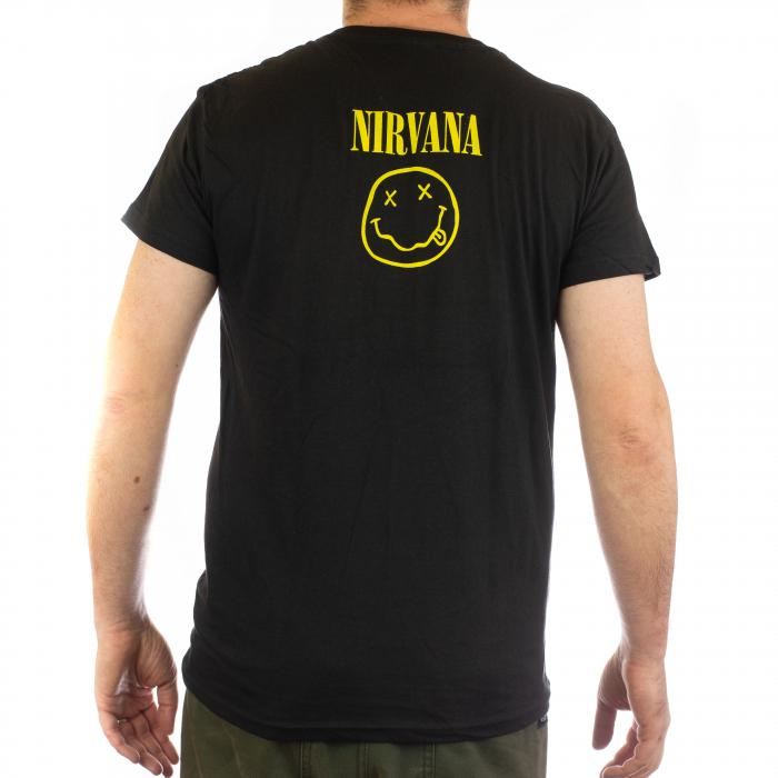 Tricou Nirvana - Smiley 145 grame 1