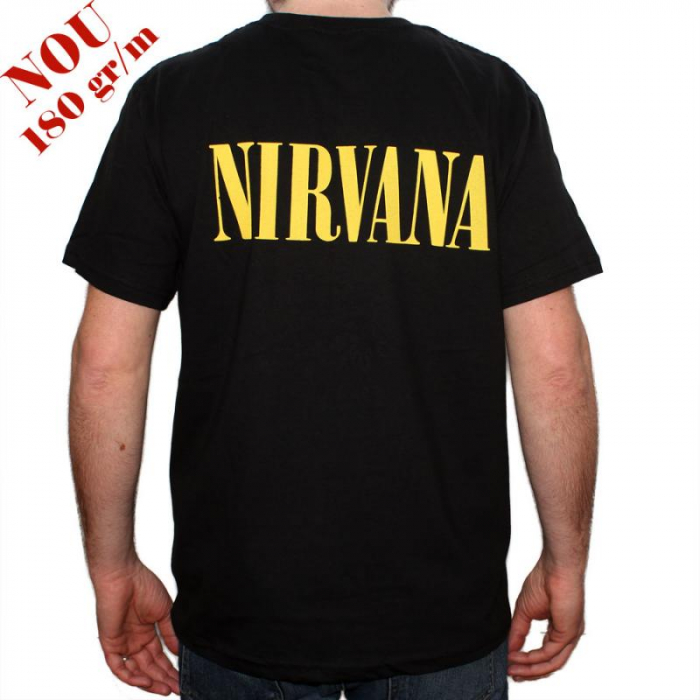 Tricou Nirvana - Smiley - 180 grame 1