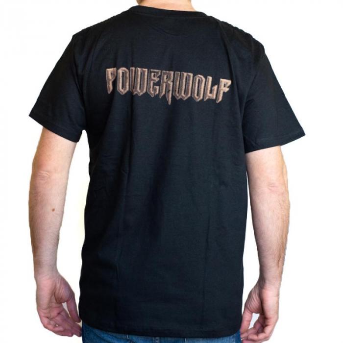 Tricou Powerwolf - Wolf Trooper marime - 180 grame [1]