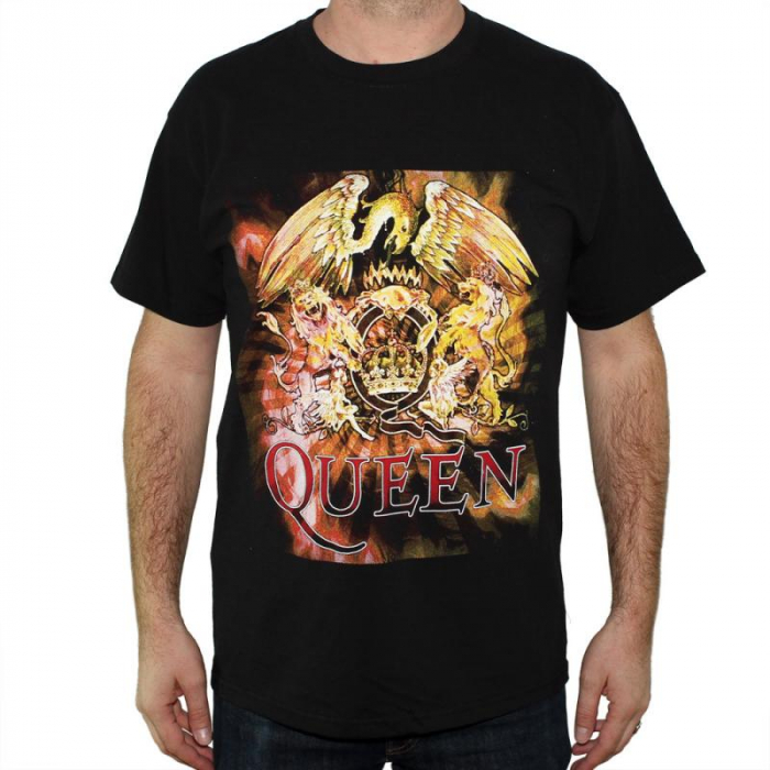 Tricou Queen - Logo - 145 grame 0
