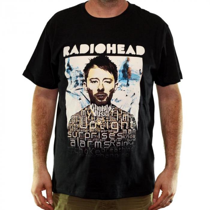 Tricou Radiohead - 180 grame 0