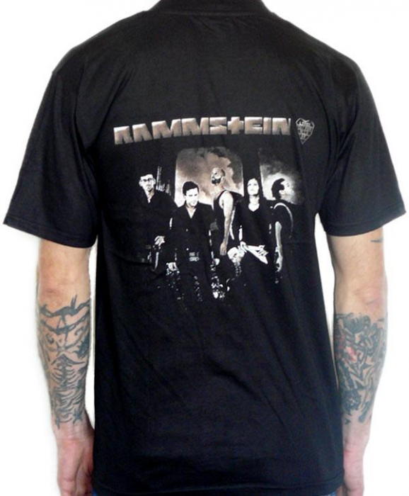 Tricou Rammstein - Band - 180 grame 1