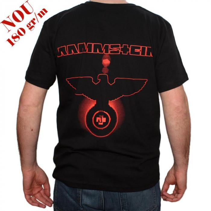 Tricou Rammstein Eagle - 180 grame 1