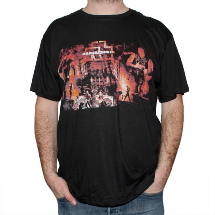 Tricou Rammstein - LIVE - 145 grame 0