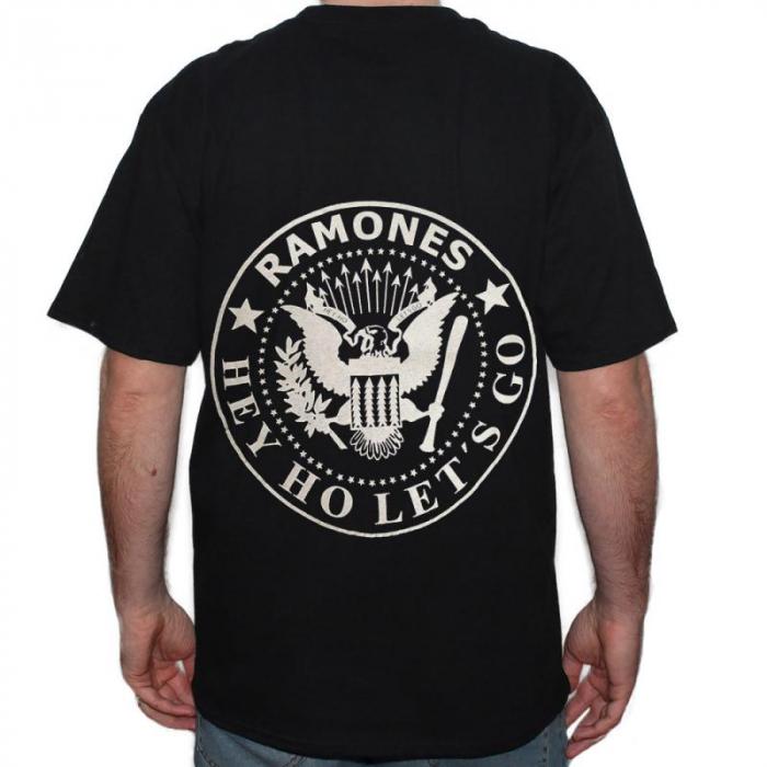 Tricou Ramones - Logo - 145 grame 1