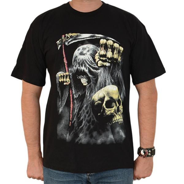 Tricou Reaper and Skull 0