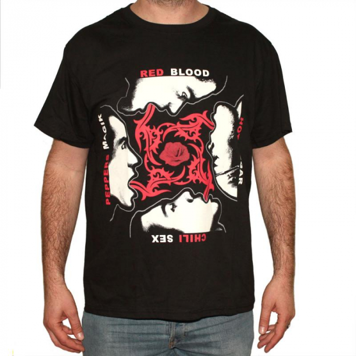 Tricou Red Hot Chili Peppers - Faces - 180 grame 0