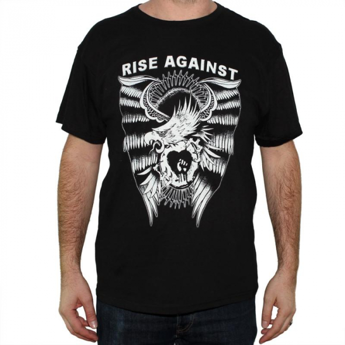 Tricou Rise Against - Logo - 145 grame 0