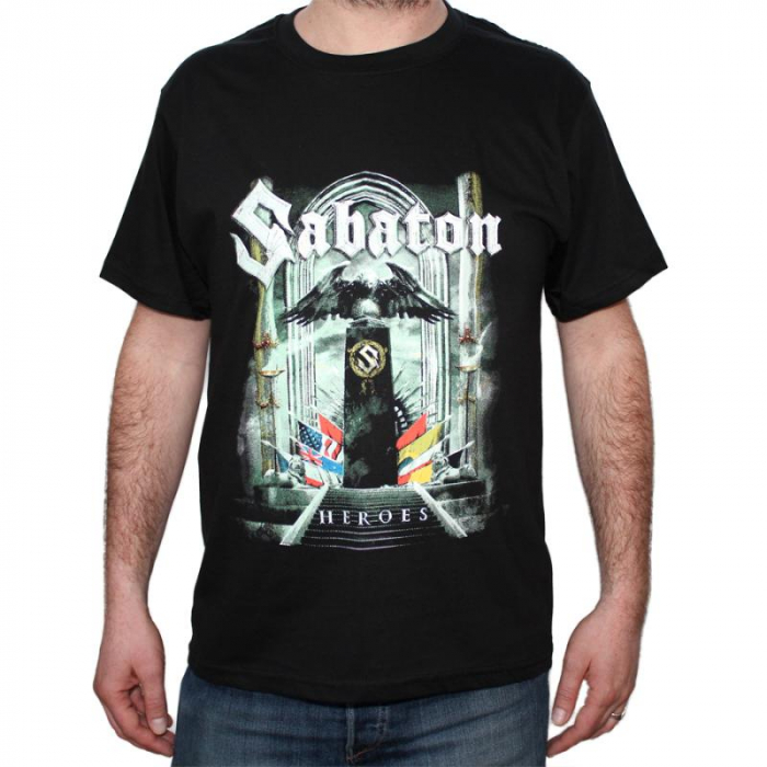 Tricou Sabaton - HEROES - 180 grame 0