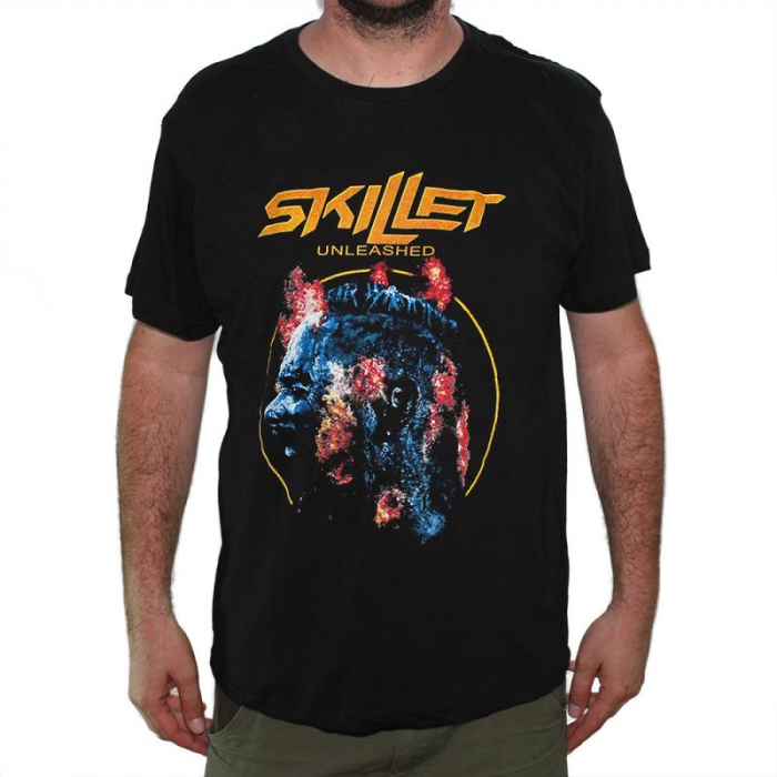 Tricou Skillet - Unleashed - 145 grame 0