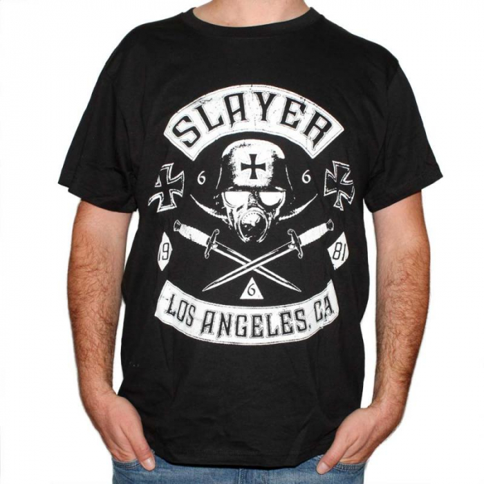 Tricou Slayer Los Angeles - 180 grame 0