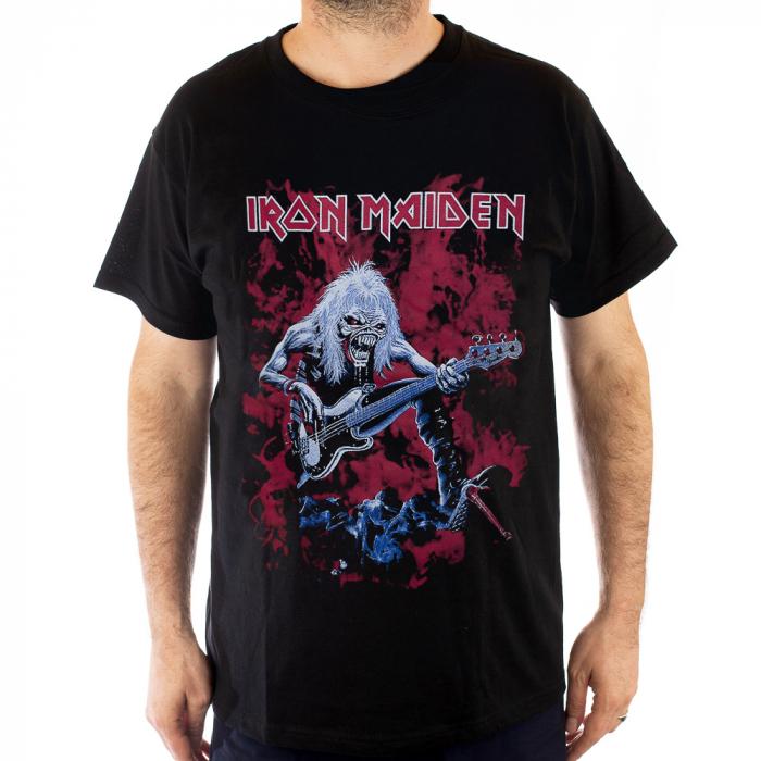 Tricou Iron Maiden - Eddie Solo - 180 grame 0