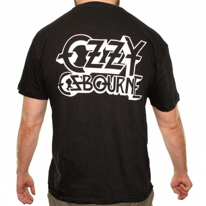 Tricou Ozzy Osbourne - Let It Die - 145 grame 1