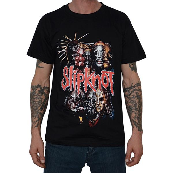 Tricou Slipknot - New Masks - 180 grame 0