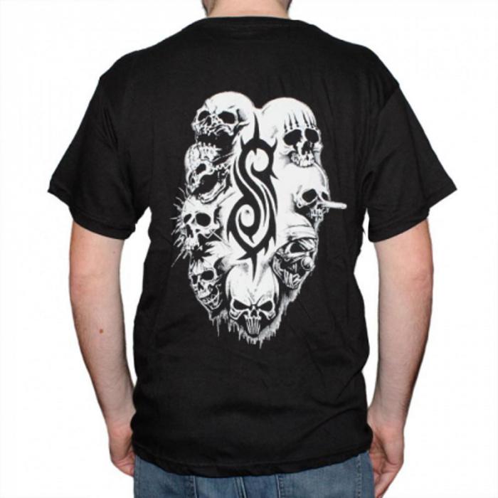 Tricou Slipknot - White Logo - 145 grame [1]