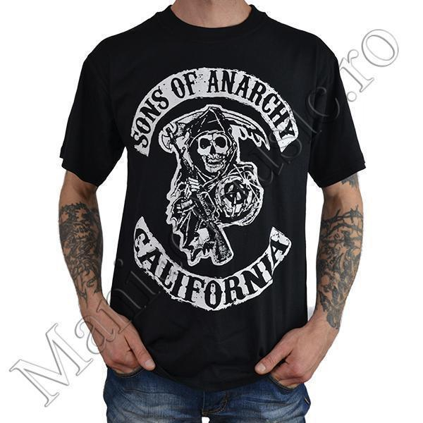 Tricou Sons of Anarchy - California Fruit Of The Loom [0]