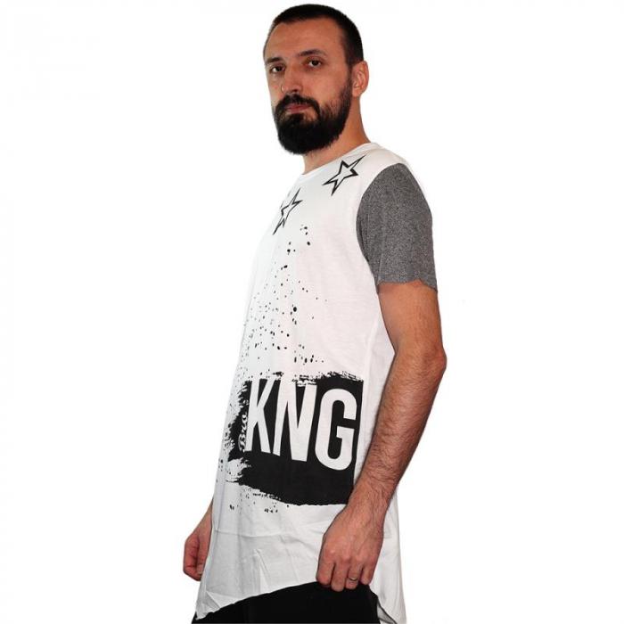 Tricou Streetwear 5M-2006 WHITE 1