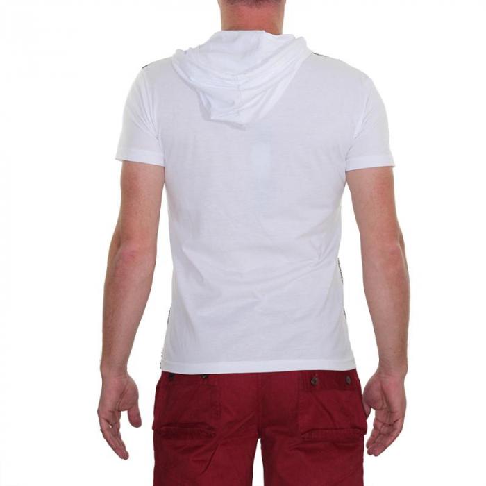 Tricou Streetwear 5M-2141 ALB 2