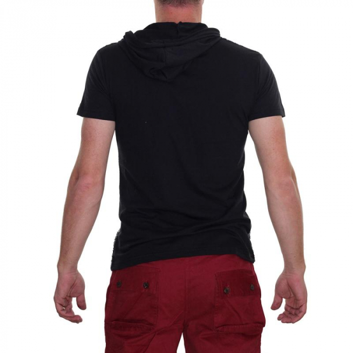 Tricou Streetwear 5M-2141 NEGRU 2