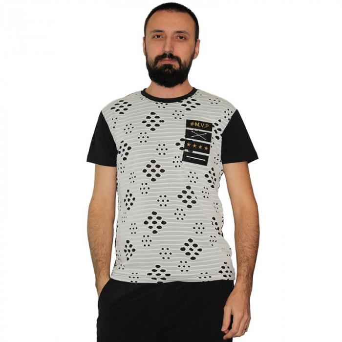 Tricou Streetwear 5M-2167 NEGRU 0