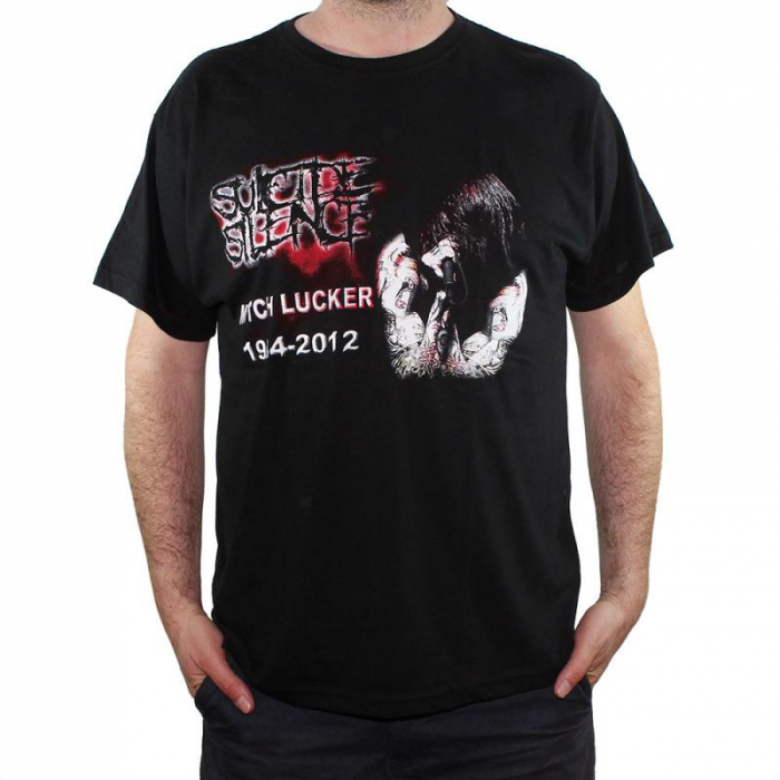 Tricou Suicide Silence - Mitch Lucker - 145 grame 0
