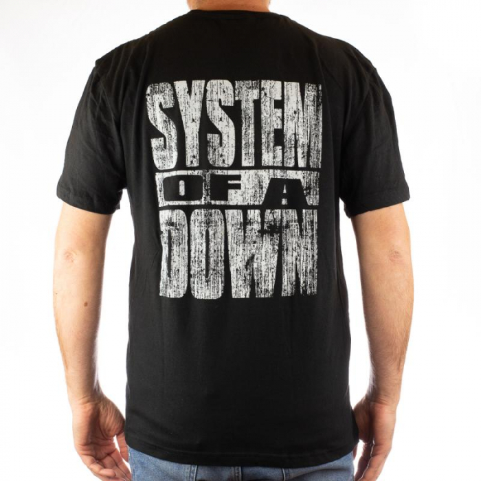Tricou System of a Down - Mushrooms 2 marime - 145 grame 1