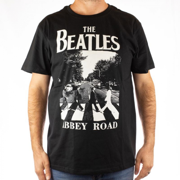 Tricou The Beatles - Abbey Road marime - 180 grame 0