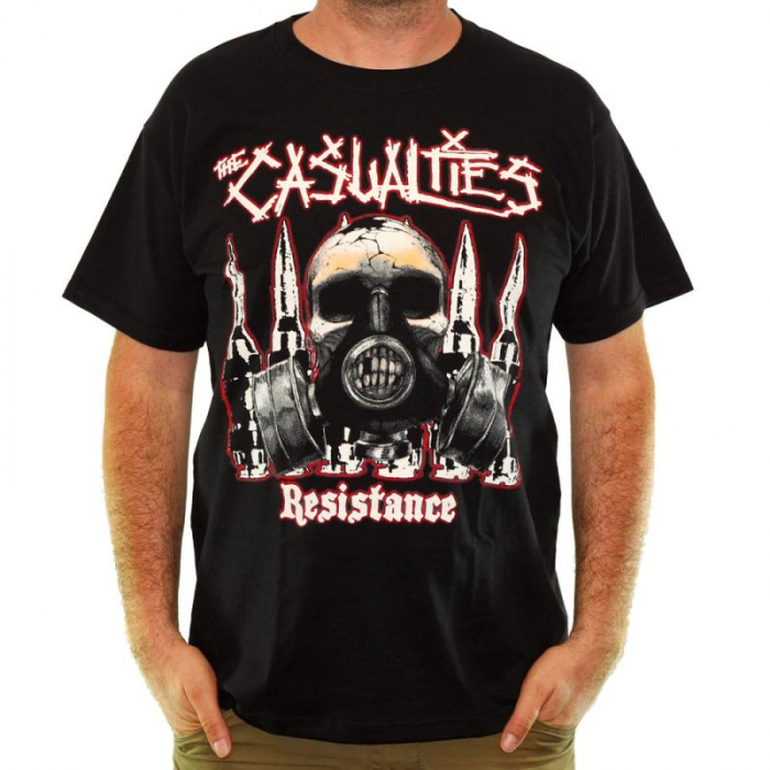 Tricou The Casualties - Resistance - Fruit Of The Loom 2