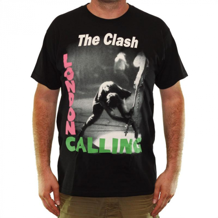 Tricou The Clash - London Calling - Fruit Of The Loom 2
