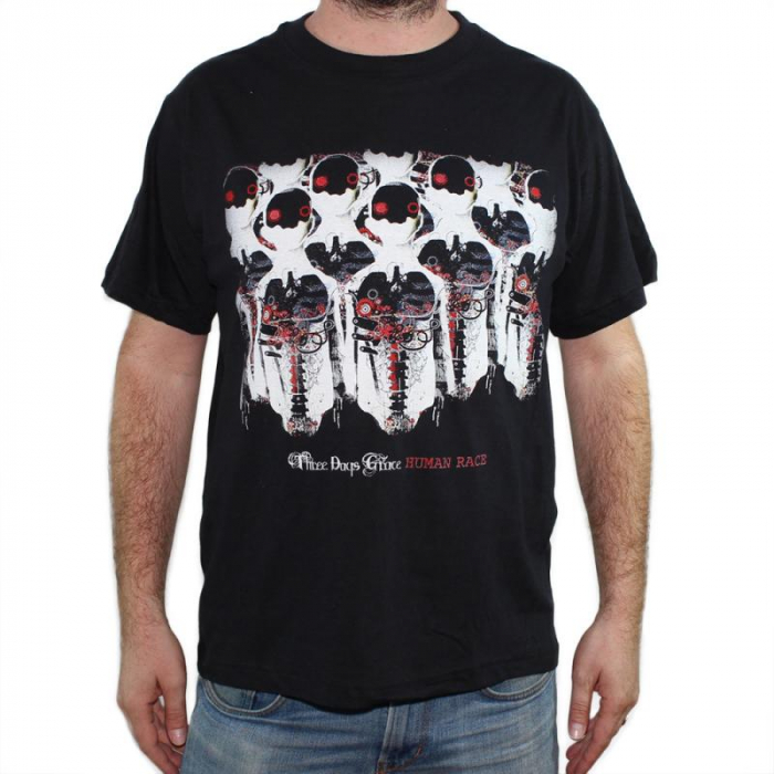 Tricou Three Days Grace - Human Race - 145 grame 0
