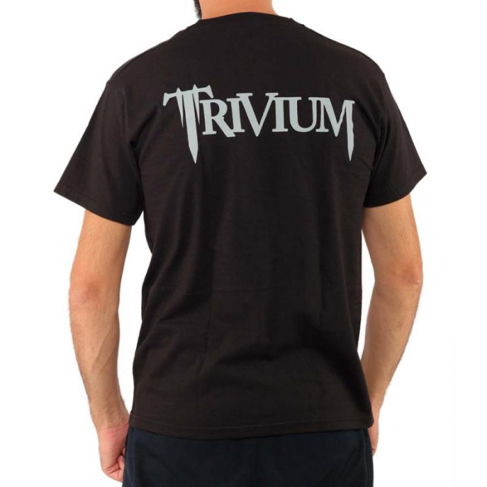 Tricou Trivium - Skulls - Fruit Of The Loom 1