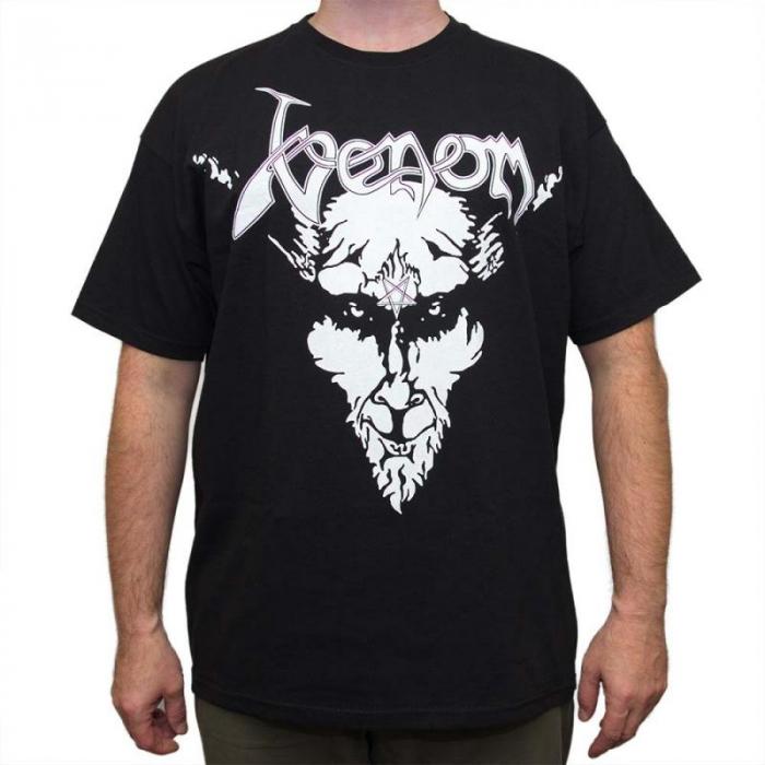 Tricou Venom - Black Metal - Fruit Of The Loom 0