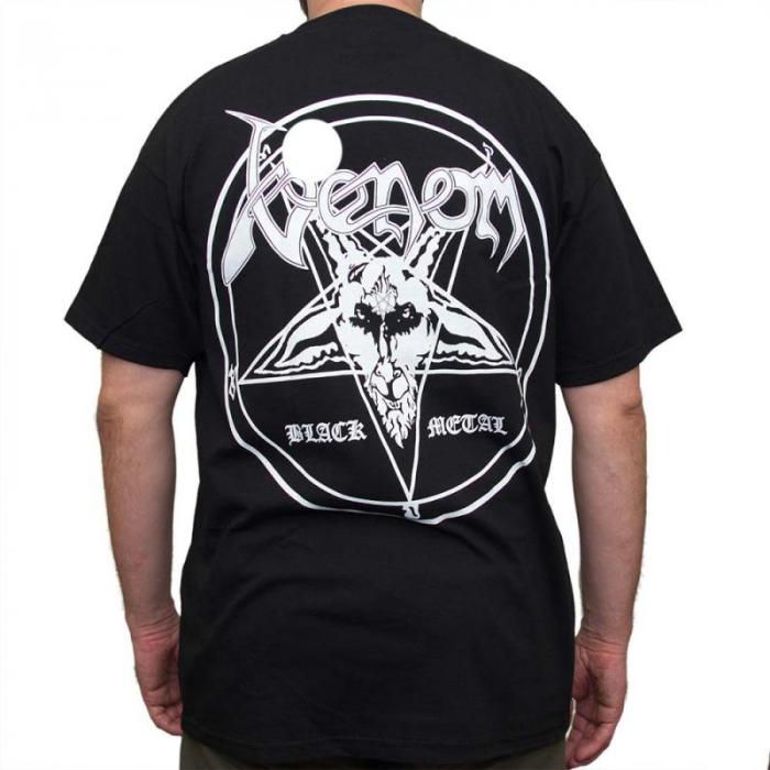 Tricou Venom - Black Metal - Fruit Of The Loom 1