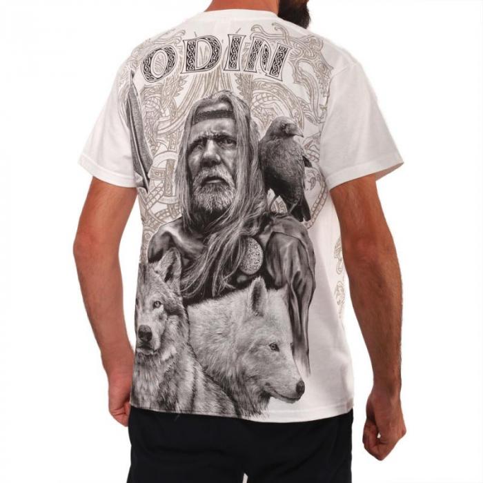 Tricou viking full printed - Odin 1