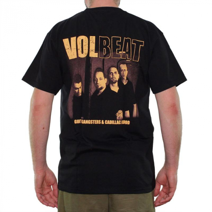 Tricou Volbeat - Guitar Gangsters and Cadillac Blood - Fruit Of The Loom 1