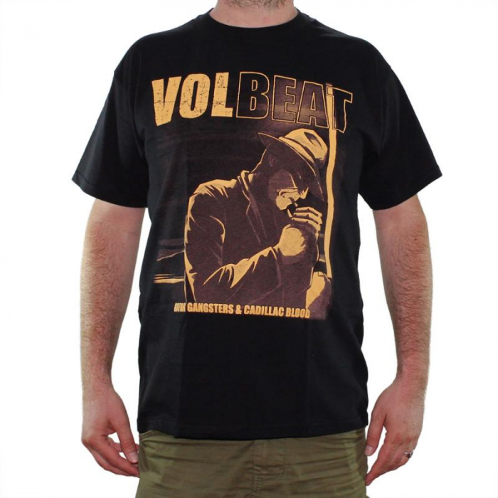 Tricou Volbeat - Guitar Gangsters and Cadillac Blood - Fruit Of The Loom 0