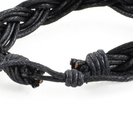 Bratara impletita - Negru [3]