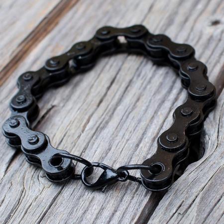 Bratara neagra lant bicicleta1