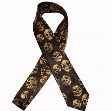 Cravata - Skull Tie-0360