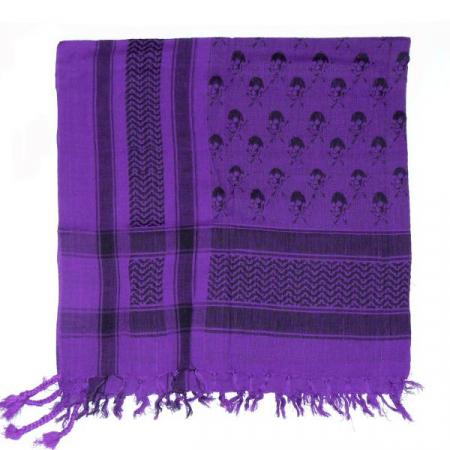 Esarfa Cranii Black Purple II1