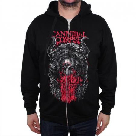 Hanorac Cannibal Corpse cu fermoar -3rd Eye0