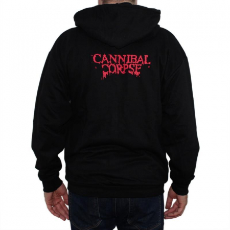 Hanorac Cannibal Corpse cu fermoar -3rd Eye1