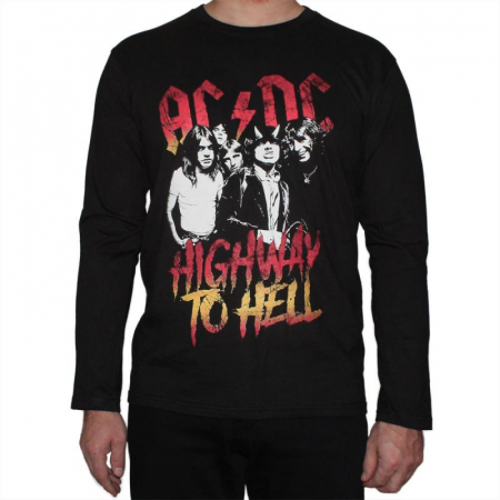 Long Sleeve Ac Dc - Highway to Hell0