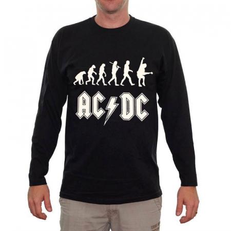 Long Sleeve AC DC - Rock Evolution0
