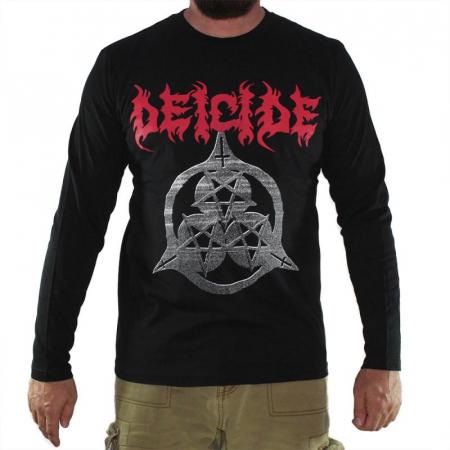 Long Sleeve Deicide - Three Pentagrams0